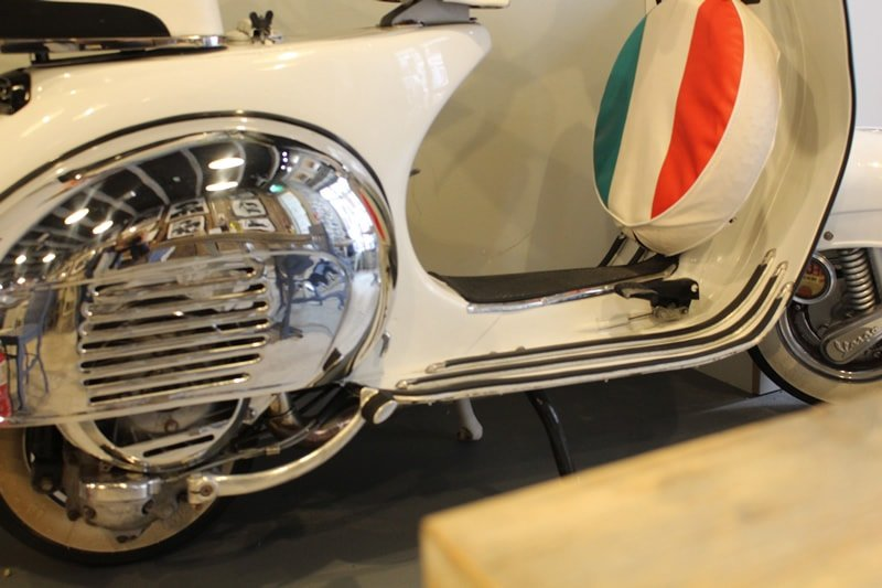 Pizza Parlour Restaurant Peterborough - Our 1960's Vespa