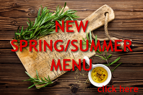 Click here for our BRAND NEW Spring/Summer Menu | Pizza Parlour Restaurant Peterborough