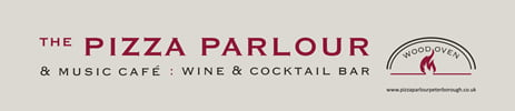 The Pizza Parlour Peterborough Logo