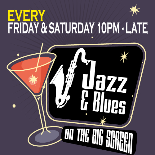 The Pizza Parlour brings you Late Night Jazz from 10pm